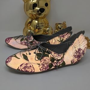 [Jeremy Scott Adidas] Rare Reflective Floral Wing